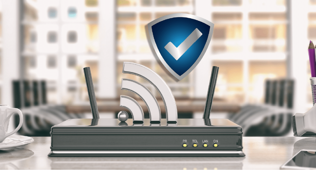 company wifi network security