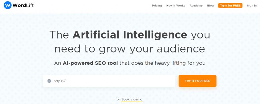 WordLift - AI powered SEO Tool
