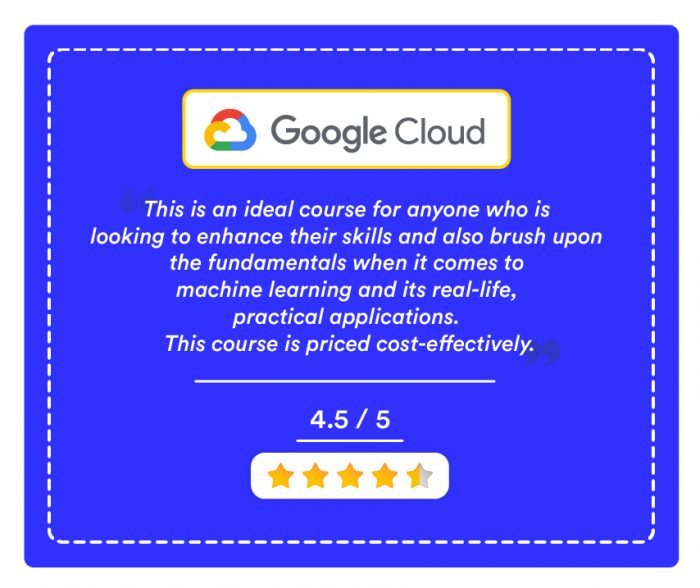 Machine Learning With Tensorflow On Google Cloud Platform Certification