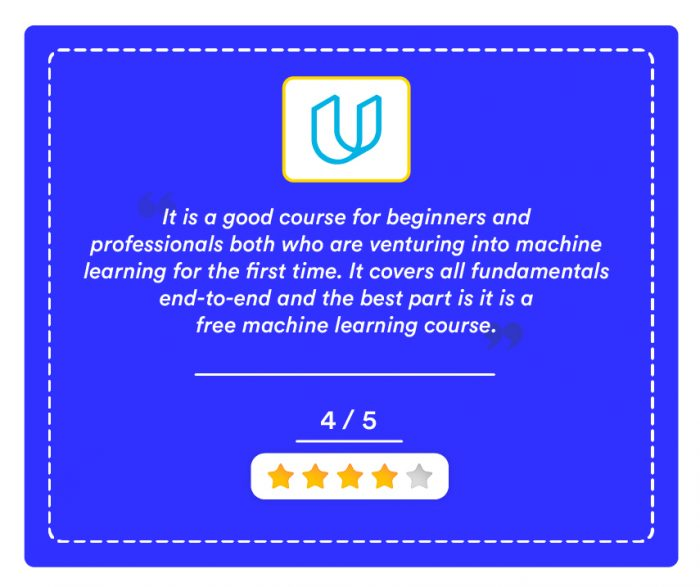 Machine Learning Free Course By Udacity