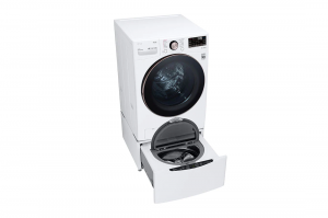 LG 4.5 Cu. Ft. High-Efficiency Stackable Smart Front-Load Washer